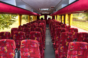 70 Seater Coach Interior